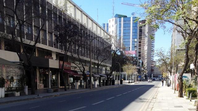 Markosia Avenue im Herzen von Nikosia