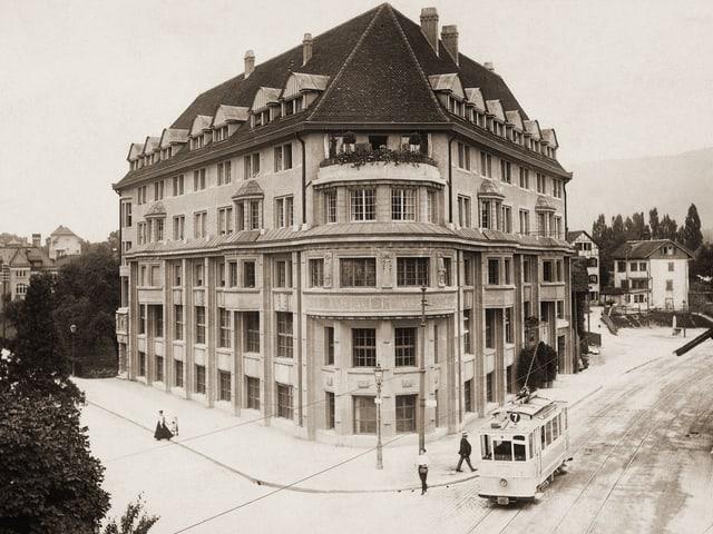 Der Wolfsberg nach der Eröffnung