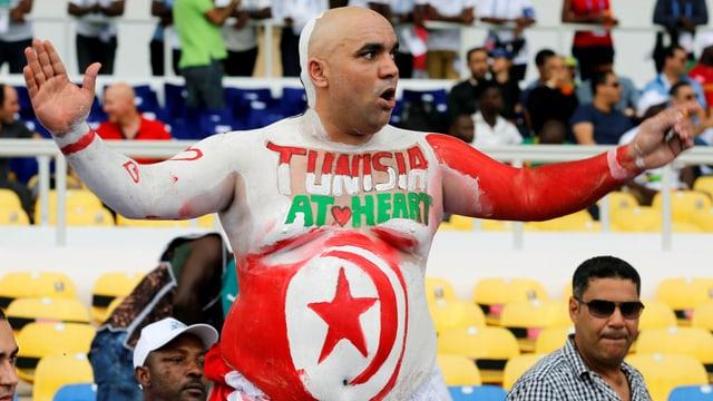 Tunesischer Fan