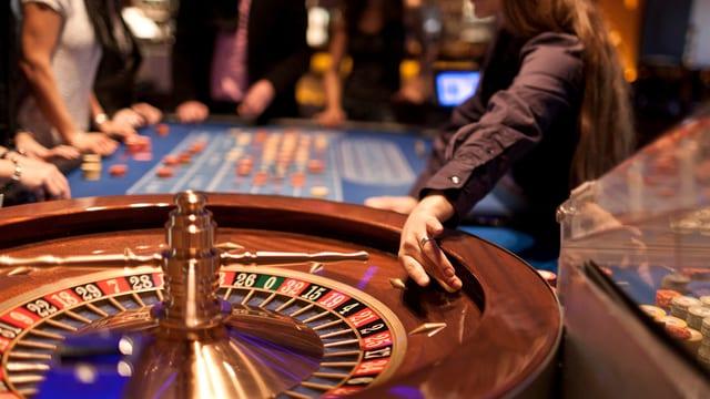 Roulette im Casino Baden