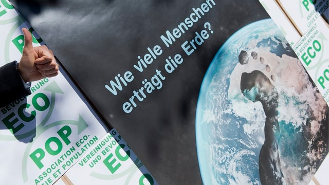 Plakat der Ecopop-Initiative