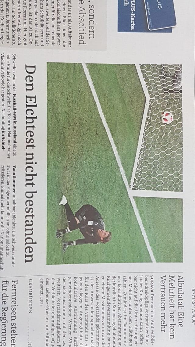 frontispezi Bündner Tagblatt