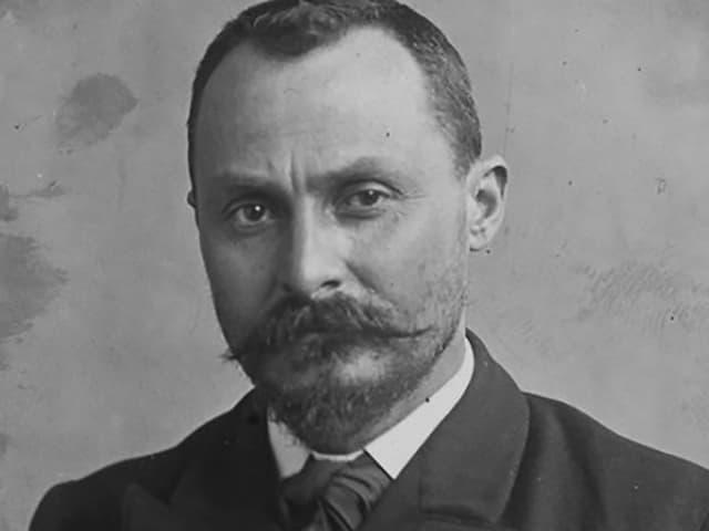Porträt von Vito Cascio Ferro.