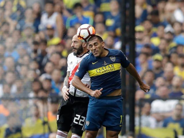 Die beiden Klubs aus Buenos Aires schenken sich nichts.