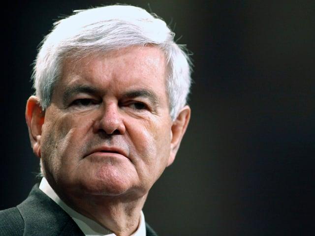 Portrait von Newt Gingrich