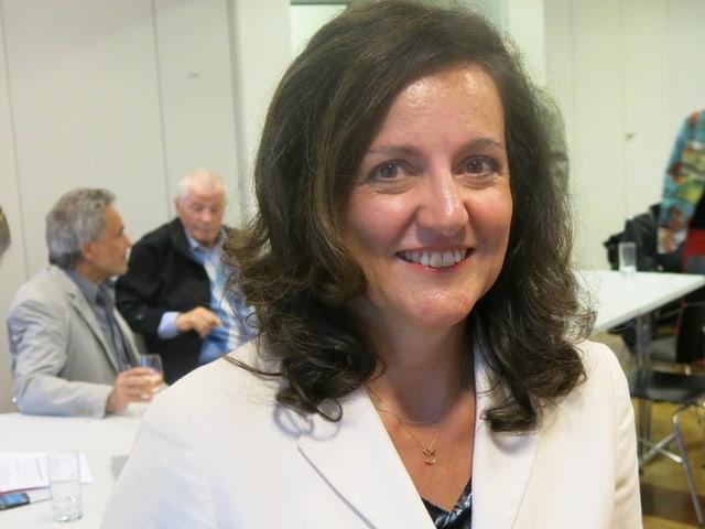 Christina Bürgi Dellsperger war während zwei Jahren Mitglied des Zuger Kantonsparlamentes.