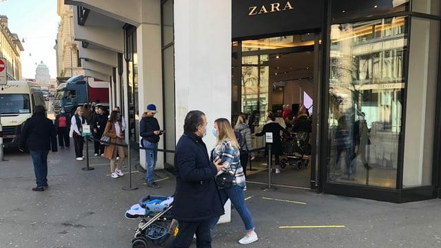 Eingang Zara