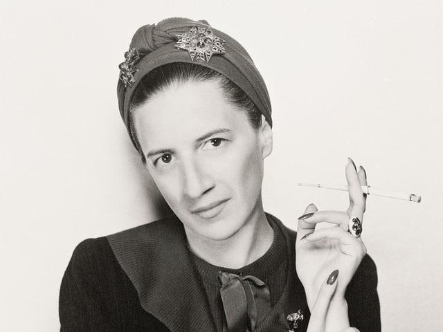 Porträt von Diana Vreeland.