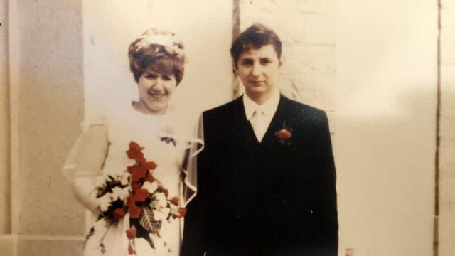 Brautpaar von 1970.