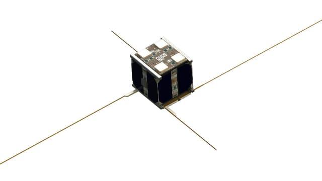 So könnte der «Cube-Sat» im All aussehen, an dem die ETH arbeitet. Sein Name: «1-Unit-Cube».