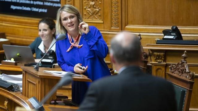 Kathrin Bertschy im Parlament