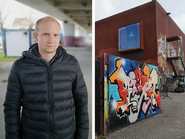 Porträt von Stefan Wigger