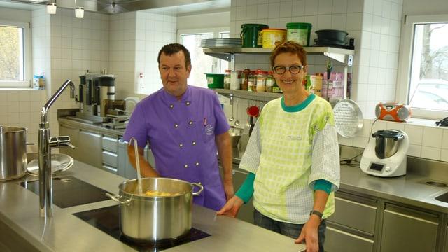 Gion Janka ed Esther Appenzeller