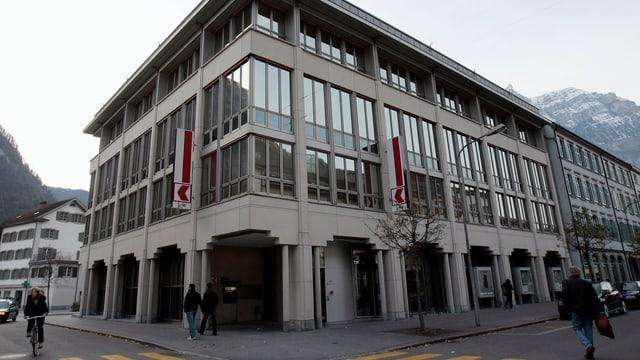 Hauptsitz der Glarner Kantonalbank in Glarus