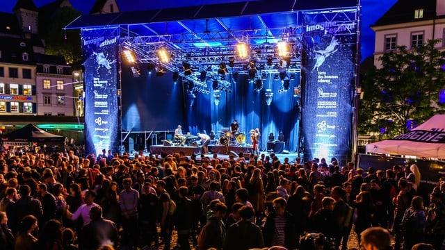 Imagine-Festival 2016 - auf dem Barfüsserplatz.
