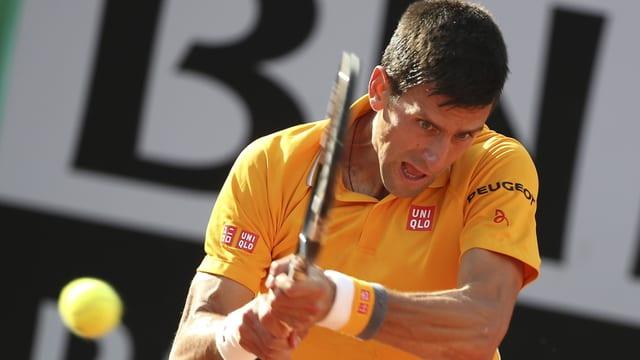 Djokovic am Ball