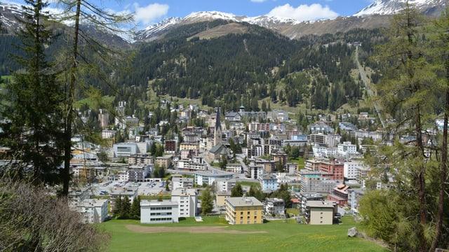 Die Gemeinde Davos