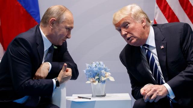 Trump und Putin am G20-Gipfel