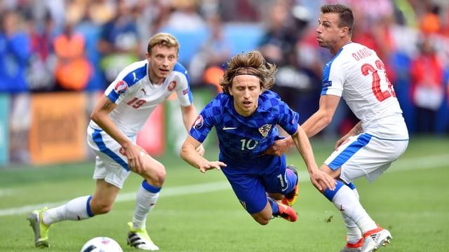 Der Kroate Luka Modric.