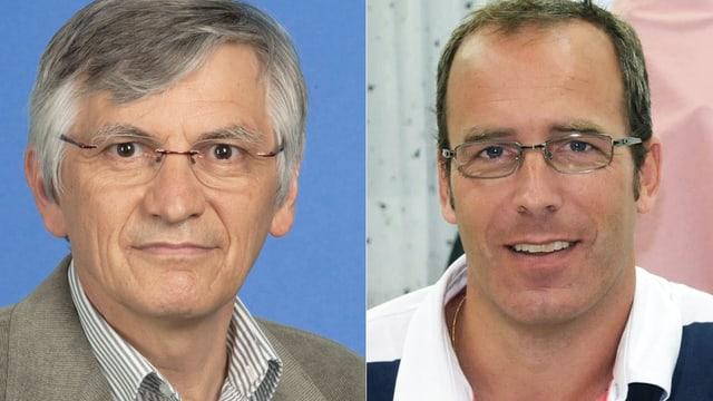 Portrait der beiden Chat-Experten