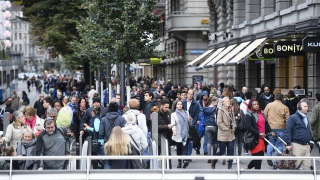 Netto-Zuwanderung von 30'000 Personen pro Jahr