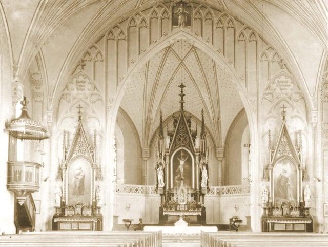Innenansicht der Pfarrkirche