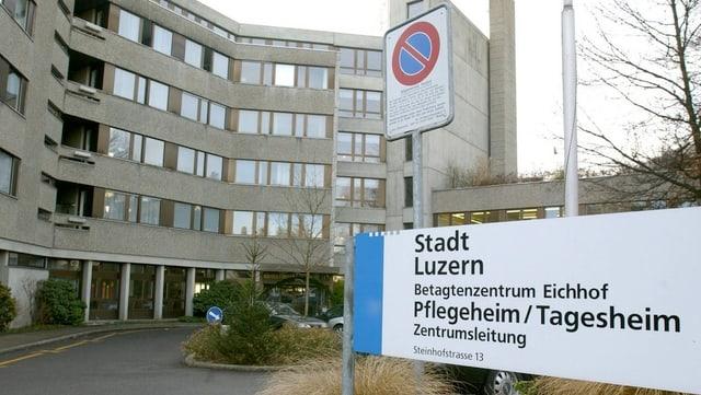 Pflegeheim Eichhof, Luzern.