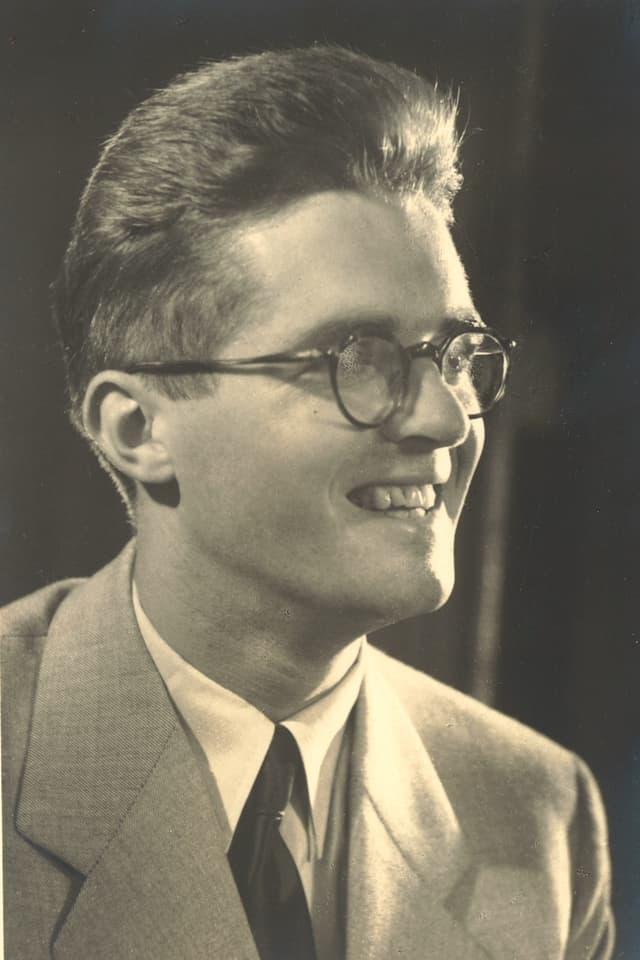 Schwarzweiss Foto von Jost aus früheren Jahren.