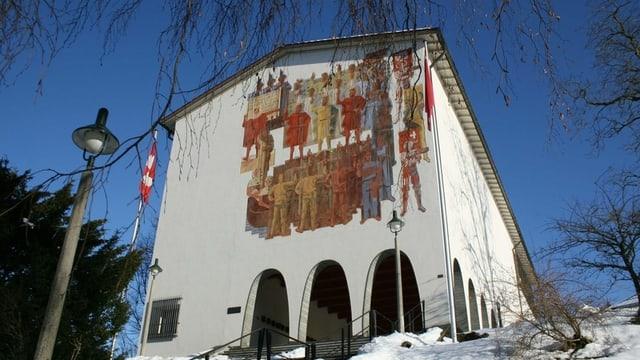 Das Museumsgebäude von aussen.