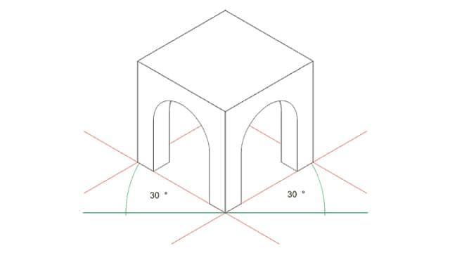 Isometrische Perspektive