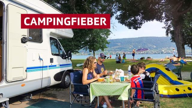"""""""Schweiz Aktuell"""" im Campingfieber"""