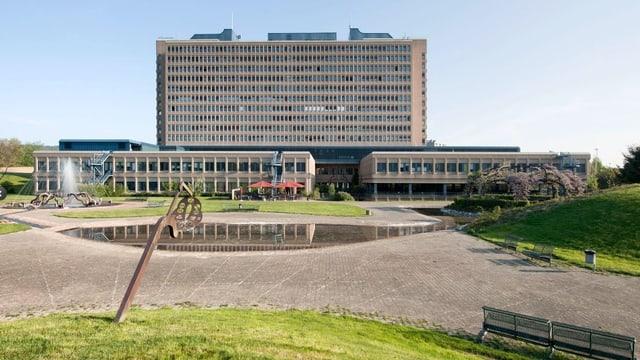 Das Kantonsspital Baden, Hauptgebäude