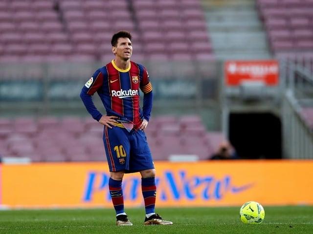 Lionel Messi im Trikot des FC Barcelona