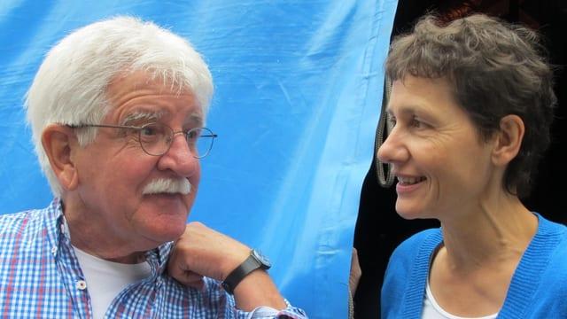Werner Panzer und Martina Mercatali