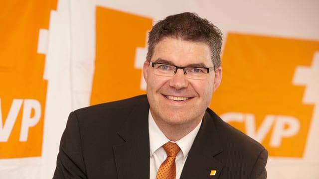 Pirmin Jung war während rund 5 Jahren Präsident der CVP des Kantons Luzern.