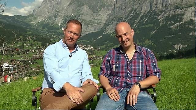 Video «Berner Oberland – Tag 1 – Hotel Aspen, Grindelwald (Wiederholung)» abspielen