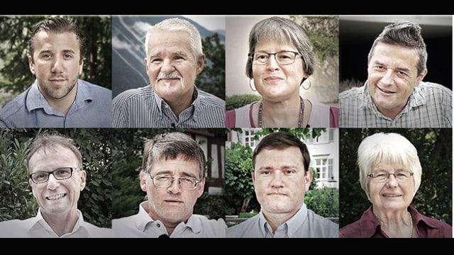 Porträtbilder von Kommentarschreibern