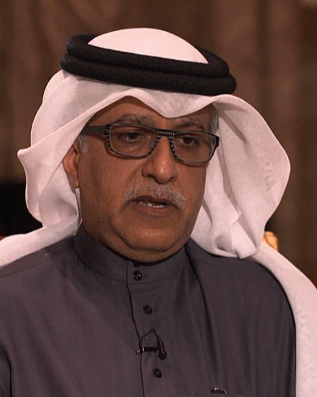 Porträt Scheich Salman bin Ibrahim Al Chalifa.