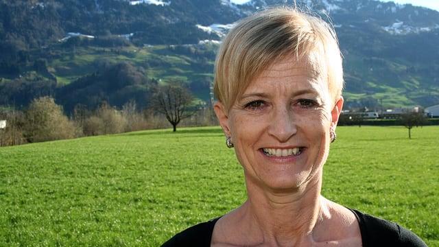 Portrait Margrit Annen.