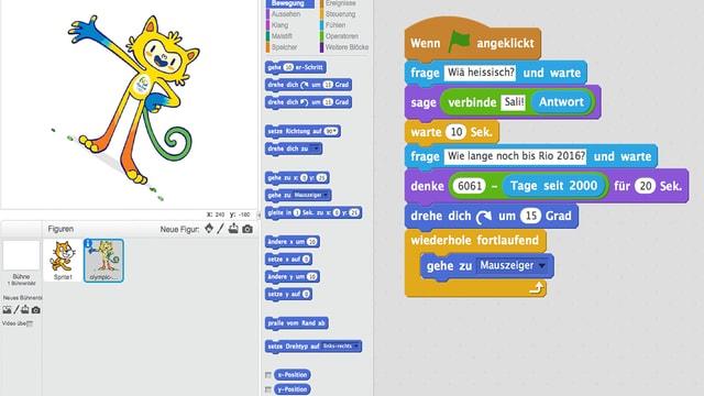 Screenshot von Beni Thurneers Olympia-Game