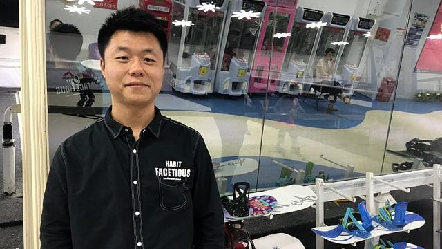 Wang Jian, Betreiber von «Xueleshan»