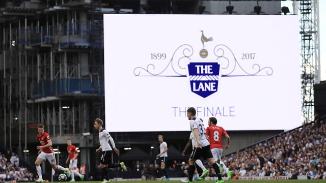 Manchester United war der letzte Gast an der White Hart Lane. Die «Spurs» kriegen eine neue Heimstätte.