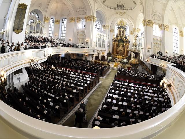 Hamburger Hauptkirche Sankt Michaelis