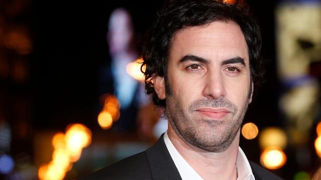 Sacha Baron Cohen im Portrait.