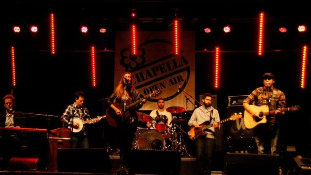 band al open air Chapella