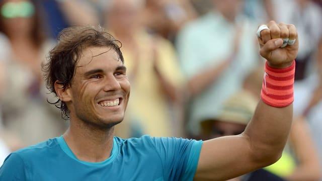 Rafael Nadal pront per Wimbledon.