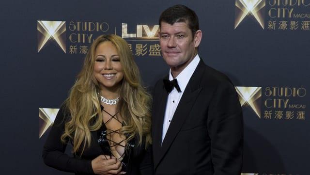 Mariah Carey und James Packer.