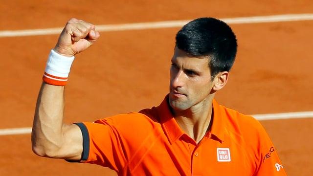 Il numer in dal mund, Novak Djokovic è en furma.