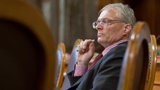 Thomas Minder im Ständerat (Archivaufnahme vom September 2012)