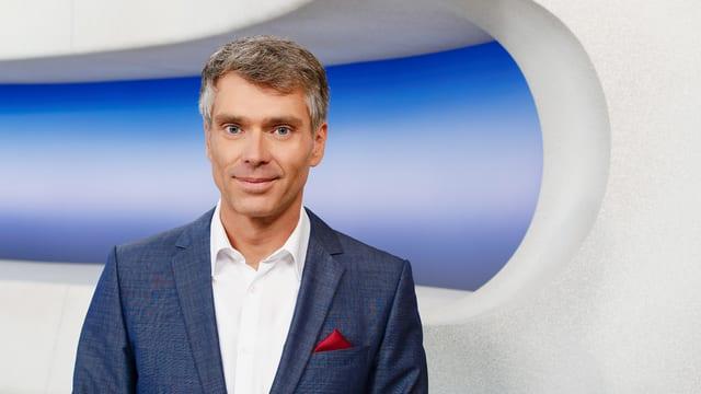 Sandro Brotz moderiert seit 2012 das aktuelle Politmagazin «Rundschau»